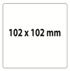 Etiqueta 102 X 102 Material T.T.